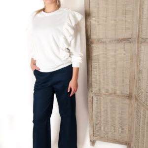 Cilou sweater broderie