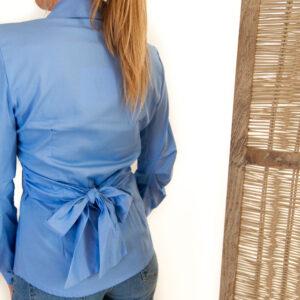 Lynn hemd – lichtblauw