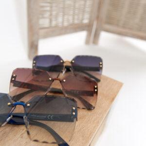 Carreaux zonnebril – blauw