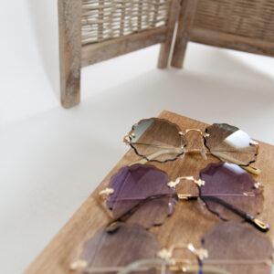 Florial zonnebril – paars