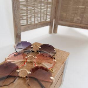Florial zonnebril – roze