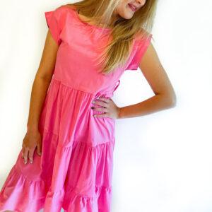 Sofia kleed – roze